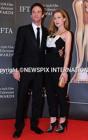 "AINE DARCY AND KEITH McERLEAN.at the 7th Annual Irish Film and Television Awards, Burlington Hotel, Dublin_20th February 2010..Mandatory Photo Credit: ©NEWSPIX INTERNATIONAL..**ALL FEES PAYABLE TO: ""NEWSPIX INTERNATIONAL""**..PHOTO CREDIT MANDATORY!!: NEWSPIX INTERNATIONAL(Failure to credit will incur a surcharge of 100% of reproduction fees)..IMMEDIATE CONFIRMATION OF USAGE REQUIRED:.Newspix International, 31 Chinnery Hill, Bishop's Stortford, ENGLAND CM23 3PS.Tel:+441279 324672  ; Fax: +441279656877.Mobile:  0777568 1153.e-mail: info@newspixinternational.co.uk"