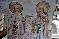 BG51469.JPG BULGARIA, BATCHKOVO MONASTERY, CHURCH OF SVETA-BOGORODITSA , 1604, frescoes