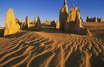 Pinnacles in Nambung National Park; Western Australia, Australia