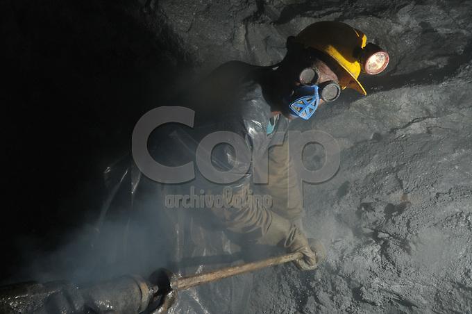 Mineros Nacionales, Marmato, Caldas, Colombia..