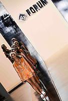 SAO PAULO, SP, 19 MARÇO 2013 - SPFW - FORUM - A apresentadora Fernanda Lima durante desfile da grife Forum no segundo dia da São Paulo Fashion Week, coleção Primavera-Verão na Bienal do Ibirapuera, zona sul de São Paulo, nesta terça-feira, 19. (FOTO: WILLIAM VOLCOV / BRAZIL PHOTO PRESS)