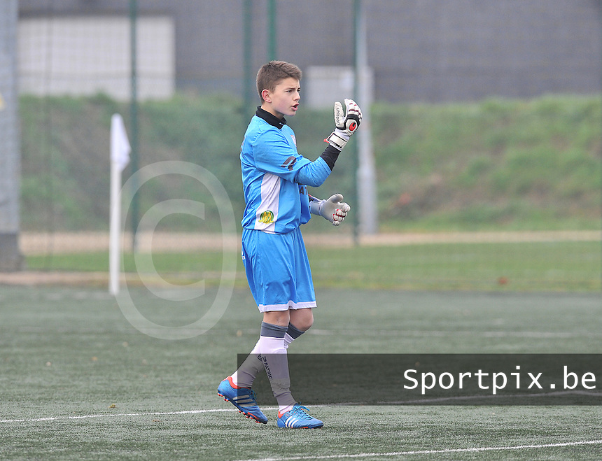 Zulte-Waregem U15 : Fabio Vandenbossche.foto David Catry / Loft6.be