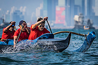 The race of open group during ATIR Around The Island Race 2019 at Royal Hong Kong Yacht Club, Middle Island, Hong Kong, on 10  November 2019, Hong Kong SAR, China.  Photo by : Ike Li / Ike Images