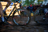 muddy wheel sucker<br /> <br /> Superprestige Gavere 2014