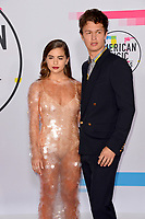 Violetta Komyshan &amp; Ansel Elgort  at the 2017 American Music Awards at the Microsoft Theatre LA Live, Los Angeles, USA 19 Nov. 2017<br /> Picture: Paul Smith/Featureflash/SilverHub 0208 004 5359 sales@silverhubmedia.com