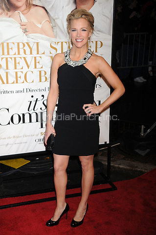 Megan Kelly at the film premiere of 'It's Complicated' at The Paris Theatre in New York City. December 9, 2009. Credit: Dennis Van Tine/MediaPunch