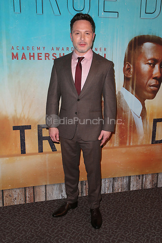 LOS ANGELES, CA - JANUARY 10: Nic Pizzolatto at the Los Angeles Premiere of HBO's True Detective Season 3 at the Directors Guild Of America in Los Angeles, California on January 10, 2019. Credit: Faye Sadou/MediaPunch