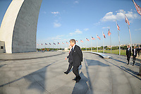 USA Bid Committee for the 2018 or 2022 FIFA World Cup from right to left Harold Mayne-Nicholls (Head of FIFA Inspection) Kevin Payne ( President and CEO DC United) at the Washington Monument , Wednesday  September 8, 2010.