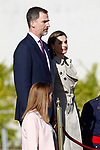 King Felipe VI of Spain and Queen Letizia of Spain depart for an official visit to Japan. April 3 ,2017. (ALTERPHOTOS/Acero)
