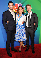 NEW YORK CITY, NY, USA - MAY 12: Morgan Spector, Margarita Levieva, Gavin Stenhouse at the 2014 NBC Upfront Presentation held at the Jacob K. Javits Convention Center on May 12, 2014 in New York City, New York, United States. (Photo by Celebrity Monitor)
