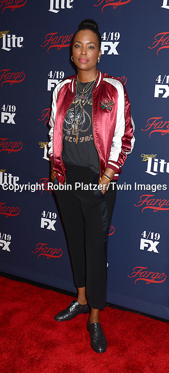 Aisha Tyler of &quot;Archer&quot; attends FX's 2017 All-Star Upfront on  April 6, 2017 at SVA Theater in New York, New York, USA. <br /> <br /> photo by Robin Platzer/Twin Images<br />  <br /> phone number 212-935-0770
