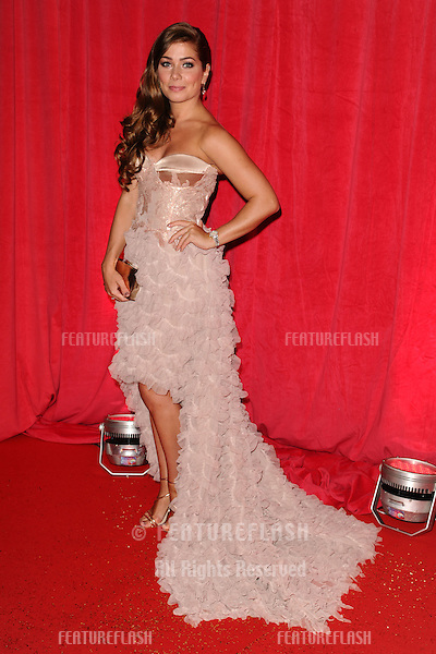 Nikki Sanderson arriving for the 2014 British Soap Awards, at the Hackney Empire, London. 24/05/2014 Picture by: Steve Vas / Featureflash