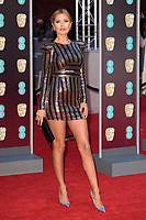 Victoria Bonya arriving for the BAFTA Film Awards 2018 at the Royal Albert Hall, London, UK. <br /> 18 February  2018<br /> Picture: Steve Vas/Featureflash/SilverHub 0208 004 5359 sales@silverhubmedia.com