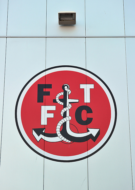 A general view of Highbury Stadium, home of Fleetwood Town<br /> <br /> Photographer Dave Howarth/CameraSport<br /> <br /> Football - Capital One Cup First Round - Fleetwood Town v Hartlepool United - Tuesday 11th August 2015 - Highbury Stadium - Fleetwood<br />  <br /> &copy; CameraSport - 43 Linden Ave. Countesthorpe. Leicester. England. LE8 5PG - Tel: +44 (0) 116 277 4147 - admin@camerasport.com - www.camerasport.com
