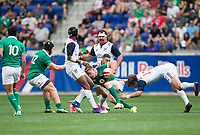 Harrison, NJ. - Saturday, June 10 2017: Ireland defeated the USA 55-19 in an international rugby match at Red Bull Arena.