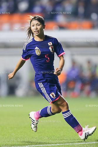 Aya Sameshima (JPN),<br /> MAY 28, 2015 - Football / Soccer : KIRIN Challenge Cup 2015 match between Japan 1-0 Italy at Minaminagano Sports Park in Nagano, Japan.<br /> (Photo by AFLO)