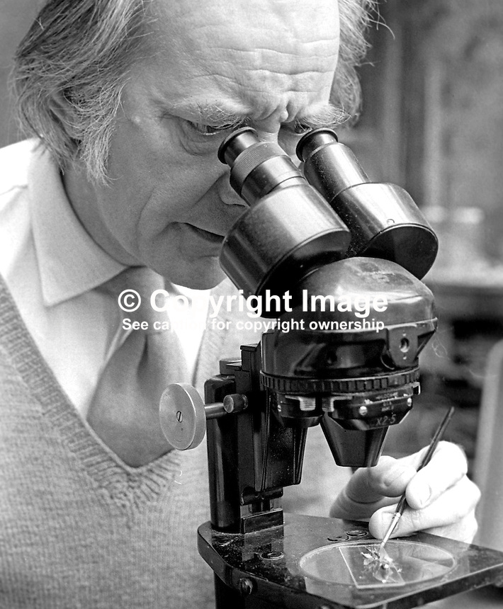 Raymond Piper, born London, lived Belfast, N Ireland, since he was six years old, artist, botanist, not only did he paint orchids he grew them in his own garden so they would be fresh for drawing or painting. He also examined them in great detail using a microscope. 197510060675f<br />