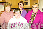 OPEN NIGHT: At the open night at Killorglin Family Resource Centre on Thursday last were l-r: Maureen Gamble, Breda O'Sullivan, Margaret Wrenn, Marian Ahern.
