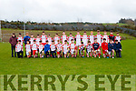 The PS Chorca Dhuibhne  team that played Tralee CBS  in Killarney on Wednesday
