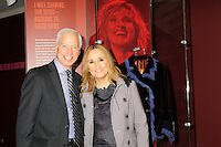Melissa Etheridge poses for a photo with Cary H. Sherman Chairman &amp; CEO of the Recording Industry Association of America (RIAA) , in front Etheridges' jacket she wore to the 2005 Grammy Award show. The jacket is part of the &quot;Women Who Rock&quot; exhibition sponsored by the Rock and Roll Hall of Fame and the RIAA (Recording Industry Association of America) at NMWA in Wasington DC. Sunday Nov. 4th. Grammy award winner Melissa Etheridge is presented with The Excellence in the Performing Arts award from the National Museum of Women in the Arts (NMWA) in Washington DC. Sunday Nov. 4, 2012. Etheridge  also performed on the piano and then an acoustic set on guitar for an intimate audience of about 400 people. Photo &copy;Suzi Altman/For NMWA Grammy award winner Melissa Etheridge is presented with the National Museum of Women in the Arts&rsquo; (NMWA) Award for Excellence in the Performing Arts in Washington DC. Sunday Nov. 4, 2012. Etheridge also performed on the piano and then an acoustic set on guitar for an intimate audience of about 300 people. Photo &copy;Suzi Altman/For NMWA<br /> <br /> Melissa Etheridge NMWA Award for Excellence in the Performing Arts