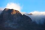 High Atlas mountains at sunrise, Tizi-n-Tichka, Morocco.