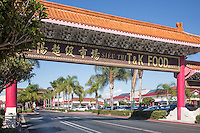 The Vietnamese Gate in Little Saigon Westmister California