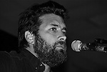 Austin Singer Songwriter Bob Schneider performing.
