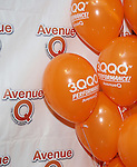 """Atmosphere at the 'Avenue Q"""" 13th Anniversary and 3,QQQ Performance with Bar Mitzvah Party at the New World Stages on January 12, 2017 in New York City."""