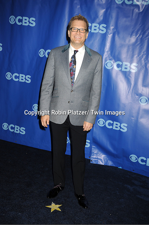 Drew Carey attending The CBS Upfront announcement of the Prime Time 2011-2012 Season on May 18, 2011 at Damrosch Park in  Lincoln Center in New York City.