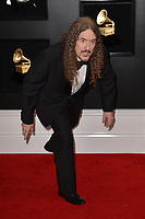 LOS ANGELES, CA - FEBRUARY 10: Weird Al Yankovic at the 61st Annual Grammy Awards at the Staples Center in Los Angeles, California on February 10, 2019. <br /> CAP/MPIFS<br /> &copy;MPIFS/Capital Pictures