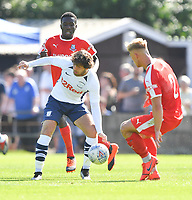 Preston North End's Ben Pearson in action during todays match  <br /> <br /> Photographer Dave Howarth/CameraSport<br /> <br /> Football Pre-Season Friendly - Bamber Bridge v Preston North End - Saturday 6th July 2019 - Sir Tom Finney Stadium - Bamber Bridge<br /> <br /> World Copyright © 2019 CameraSport. All rights reserved. 43 Linden Ave. Countesthorpe. Leicester. England. LE8 5PG - Tel: +44 (0) 116 277 4147 - admin@camerasport.com - www.camerasport.com