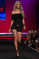 S&Atilde;O PAULO-SP-03.03.2015 - INVERNO 2015/MEGA FASHION WEEK - Tatiele Polyana (ex:BBB)/<br /> O Shopping Mega Polo Moda inicia a 18&deg; edi&ccedil;&atilde;o do Mega Fashion Week, (02,03 e 04 de Mar&ccedil;o) com as principais tend&ecirc;ncias do outono/inverno 2015.Com 1400 looks das 300 marcas presentes no shopping de atacado.Br&aacute;z-Regi&atilde;o central da cidade de S&atilde;o Paulo na manh&atilde; dessa segunda-feira,02.(Foto:Kevin David/Brazil Photo Press)