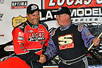 Feb 15, 2014; 9:43:28 PM; Gibsonton, FL., USA; The Lucas Oil Dirt Late Model Racing Series running The 38th Aannual WinterNationals at East Bay Raceway Park.  Mandatory Credit: (thesportswire.net)