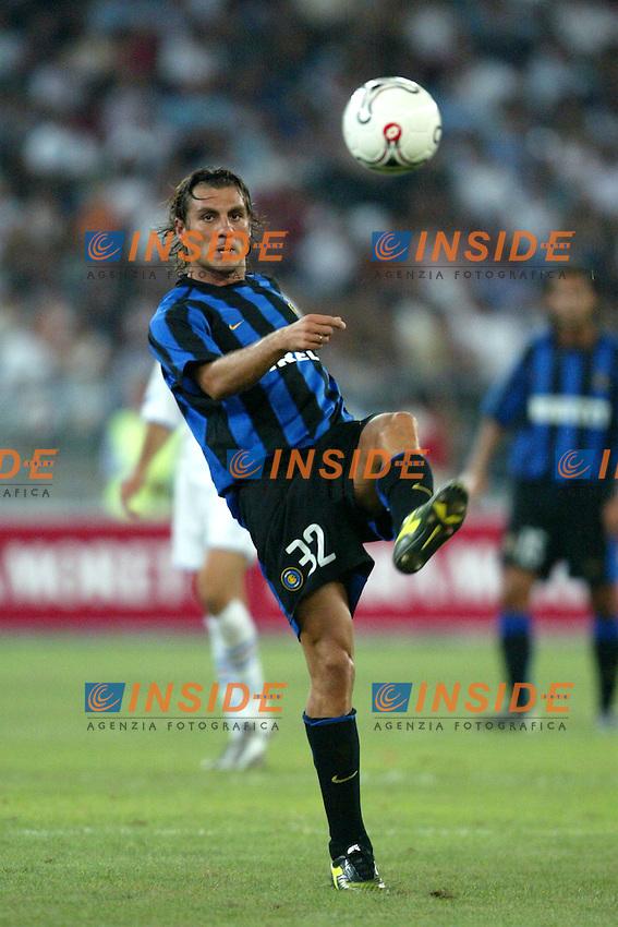 Bari 8/8/2003<br /> Birra Moretti Cup <br /> Bobo Vieri  (Inter)