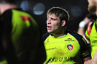 Tom Youngs of Leicester Tigers looks on. Aviva Premiership match, between Harlequins and Leicester Tigers on February 24, 2017 at the Twickenham Stoop in London, England. Photo by: Patrick Khachfe / JMP
