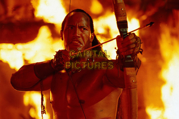 THE ROCK.in The Scorpion King.Filmstill - Editorial Use Only.Ref: FB.www.capitalpictures.com.sales@capitalpictures.com.Supplied by Capital Pictures