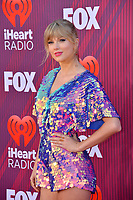 LOS ANGELES, CA. March 14, 2019: Taylor Swift at the 2019 iHeartRadio Music Awards at the Microsoft Theatre.<br /> Picture: Paul Smith/Featureflash
