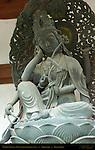 Nyoirin Kannon, Wish-Fulfilling Bodhisattva, Shingon six-armed version, Shitennoji, Osaka, Japan