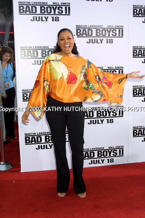 "©2003 KATHY HUTCHINS / HUTCHINS PHOTO.PREMIERE OF ""BAD BOYS II"".JULY 9, 2003.WESTWOOD, CA..LELA ROCHON"