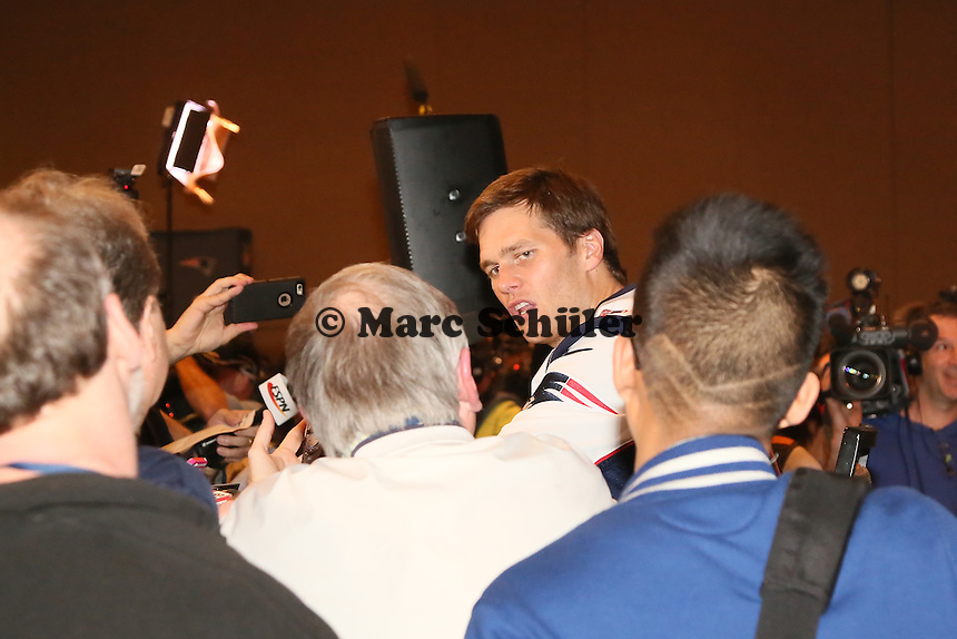 QB Tom Brady (Patriots) - Super Bowl XLIX New England Patriots Team-PK, Sheraton Arizona Grand Hotel