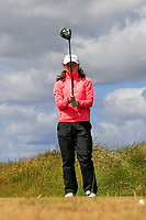 Beth Coulter (Kirkistown Castle) during the 1st round of the Irish Women's Open Stroke Play Championship, Enniscrone Golf Club, Enniscrone, Co. Sligo. Ireland. 16/06/2018.<br /> Picture: Golffile | Fran Caffrey<br /> <br /> <br /> All photo usage must carry mandatory copyright credit (© Golffile | Fran Caffrey)