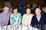 Nice to see you<br /> --------------------<br /> Enjoying the Oakpark, Tralee residents reunion last Saturday night in the Meadowlands hotel, Tralee were l-R Bill&amp;Ann Myles with Shelia&amp;John O'Driscoll.