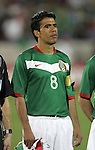 1 March 2006: Mexican captain Pavel Pardo. The National Team of Mexico defeated the National Team of Ghana 1-0 at Pizza Hut Park in Frisco, Texas in an International Friendly soccer match.
