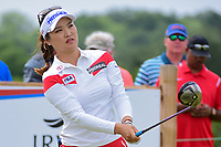 So Yeon Ryu (KOR) watches her tee shot on 9 during round 2 of  the Volunteers of America Texas Shootout Presented by JTBC, at the Las Colinas Country Club in Irving, Texas, USA. 4/28/2017.<br /> Picture: Golffile | Ken Murray<br /> <br /> <br /> All photo usage must carry mandatory copyright credit (&copy; Golffile | Ken Murray)
