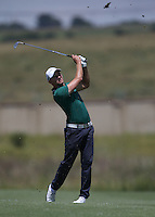 Maximilian  Kieffer (GER) adds a card of 70 during Round Two of The Tshwane Open 2014 at the Els (Copperleaf) Golf Club, City of Tshwane, Pretoria, South Africa. Picture:  David Lloyd / www.golffile.ie