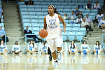 12 December 2012: North Carolina's Tierra Ruffin-Pratt. The University of North Carolina Tar Heels played the North Carolina Central University Eagles at Carmichael Arena in Chapel Hill, North Carolina in an NCAA Division I Women's Basketball game. UNC won the game 49-21.