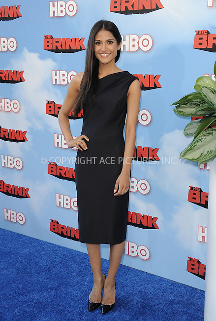WWW.ACEPIXS.COM<br /> <br /> June 8 2015, Hollywood Ca<br /> <br /> Melanie Kannokada arriving at HBO's Brink premiere on June 8, 2015 at the Paramount Theater in Hollywood Ca.<br /> <br /> Please byline: Peter West/ACE Pictures<br /> <br /> ACE Pictures, Inc.<br /> www.acepixs.com<br /> Email: info@acepixs.com<br /> Tel: 646 769 0430