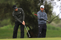 Matthew Jordan (ENG) on the 5th green during Round 4 of the Challenge Tour Grand Final 2019 at Club de Golf Alcanada, Port d'Alcúdia, Mallorca, Spain on Sunday 10th November 2019.<br /> Picture:  Thos Caffrey / Golffile<br /> <br /> All photo usage must carry mandatory copyright credit (© Golffile | Thos Caffrey)
