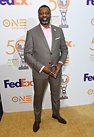 09 March 2019 - Hollywood, California - Derrick Johnson. 50th NAACP Image Awards Nominees Luncheon held at the Loews Hollywood Hotel.  <br /> CAP/ADM/BT<br /> &copy;BT/ADM/Capital Pictures