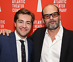 """Michael Gandolfini and Chris Bauer attends the Atlantic Theater Company """"Divas' Choice"""" Gala at the Plaza Hotel on March 4, 2019 in New York City."""